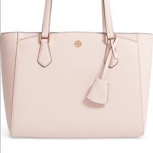 Tory Burch Small Blush Robinson Tote